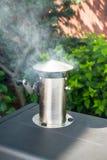 Fumatore del barbecue Fotografia Stock