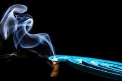 Fumée de produit répulsif de moustique Photo libre de droits