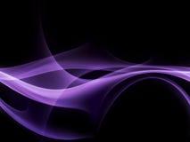 Fumée pourprée Photographie stock libre de droits