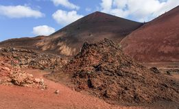 Fumerole volcanique Image stock