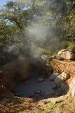 Fumerolle chez Rincon de la Vieja Volcano. Image libre de droits