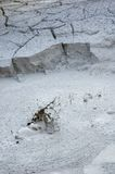 Fumerolle chez Rincon de la Vieja Volcano. Photographie stock libre de droits