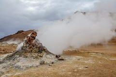 Fumerolle de volcan dans Iceland3 Photographie stock libre de droits