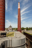 Fumes channel - coal power station, Poland Stock Photos