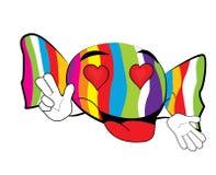 Fumetto appassionato di Candy Immagine Stock Libera da Diritti