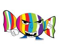 Fumetto arrabbiato di Candy Immagine Stock Libera da Diritti