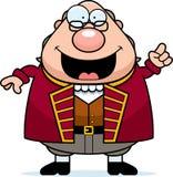 Fumetto Ben Franklin Idea royalty illustrazione gratis
