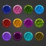 Fumetto bubbles-2 brillante Fotografia Stock
