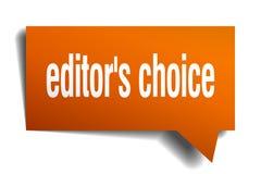 fumetto choice dell'arancia 3d del ` s del redattore Fotografia Stock