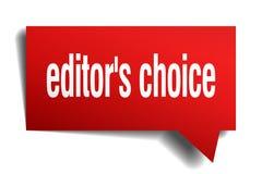 Fumetto choice di rosso 3d del ` s del redattore Fotografia Stock Libera da Diritti