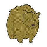 fumetto comico dell'orso enorme royalty illustrazione gratis