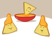 Fumetto dei nacho illustrazione di stock