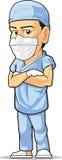 Fumetto del chirurgo Fotografia Stock