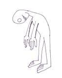 Fumetto del fantasma Immagini Stock
