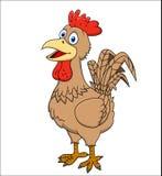 Fumetto del gallo Immagine Stock