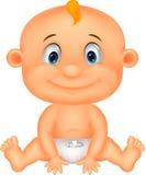 Fumetto del neonato Fotografia Stock Libera da Diritti