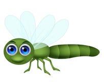 Fumetto della libellula Fotografia Stock