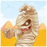 Fumetto della mummia Fotografie Stock