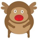 Fumetto della renna Immagine Stock Libera da Diritti