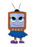 Fumetto della TV Fotografia Stock