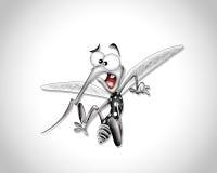 Fumetto della zanzara Fotografie Stock