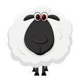 Fumetto delle pecore Fotografie Stock