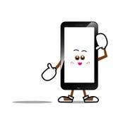 Fumetto 010 dello Smart Phone Fotografia Stock Libera da Diritti