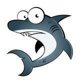 Fumetto dello squalo Fotografia Stock