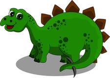 Fumetto dello Stegosaurus royalty illustrazione gratis