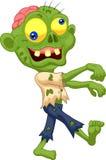 Fumetto dello zombie Fotografie Stock