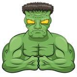 Fumetto di Frankenstein Fotografie Stock