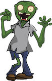 Fumetto di morto che cammina della gente dello zombie divertente Fotografie Stock Libere da Diritti