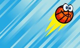 Fumetto di pallacanestro Fotografia Stock Libera da Diritti