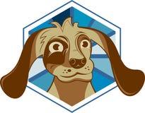 Fumetto di riserva di acquisto del mostro di logo Fotografia Stock