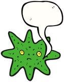 Fumetto divertente delle stelle marine Fotografie Stock