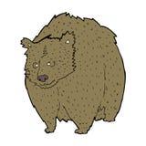 fumetto enorme dell'orso illustrazione vettoriale