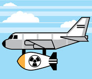 Fumetto enorme della bomba illustrazione vettoriale