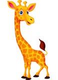 Fumetto felice della giraffa illustrazione vettoriale