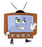 Fumetto felice della TV Immagine Stock Libera da Diritti