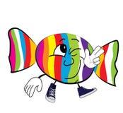 Fumetto felice di Candy Fotografia Stock Libera da Diritti