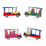 Fumetto filippino della jeep Immagine Stock