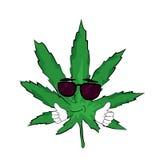 Fumetto fresco della marijuana Immagine Stock Libera da Diritti