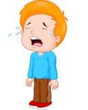 Fumetto giovane gridare del ragazzo royalty illustrazione gratis