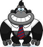 Fumetto Gorilla Tie illustrazione di stock