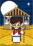 Fumetto Jesus Bible Character Fotografia Stock Libera da Diritti