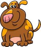 Fumetto macchiato del cane Immagini Stock Libere da Diritti