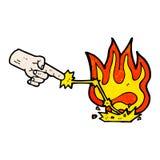fumetto magico di tocco Immagini Stock Libere da Diritti