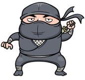 Fumetto Ninja Fotografie Stock