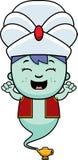 Fumetto piccola Genie Celebrate illustrazione di stock