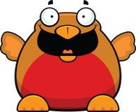 Fumetto Robin Bird Happy Immagine Stock Libera da Diritti